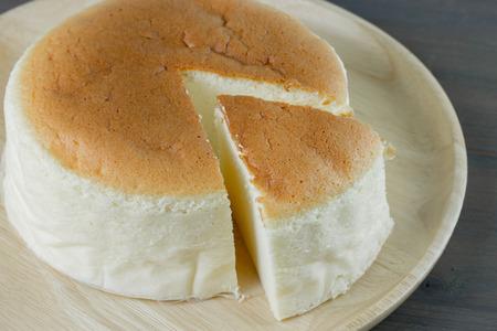 Foto de Homemade cheesecake, healthy summer dessert pie cheesecake - Imagen libre de derechos