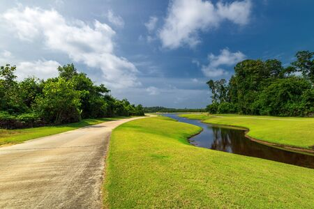 Foto de Landscape Photos Of Wonderful Panorama in Batam Bintan Indonesia - Imagen libre de derechos