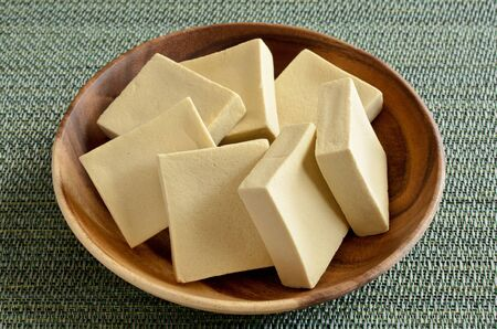 Foto de Koya-dofu, Image of freeze-dried tofu - Imagen libre de derechos