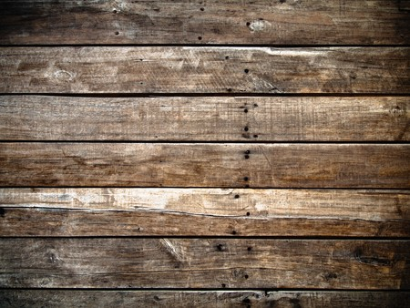 Old panel wood background Horizontal