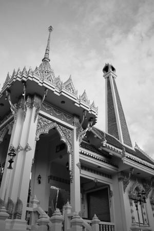 Crematory in temple,Nonthaburi Thailand