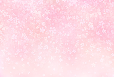 Illustration for Sakura blossoms background - Royalty Free Image