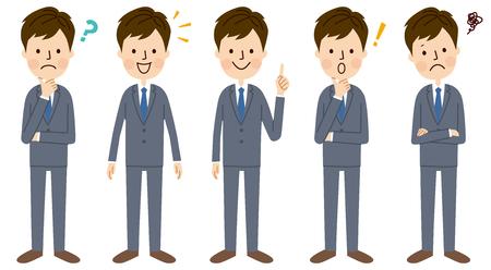 Illustration pour Young businessman - image libre de droit