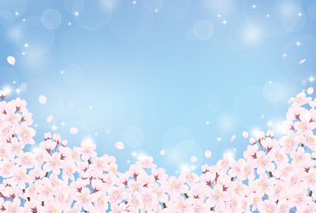 Illustration for Cherry blossom - Royalty Free Image