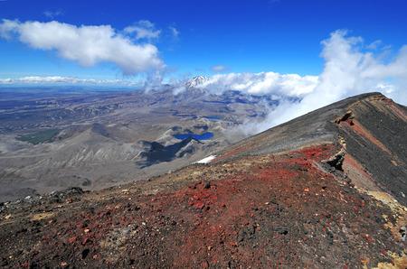 Mount Ngauruhoe Summit, Tongariro National Park, New Zealand