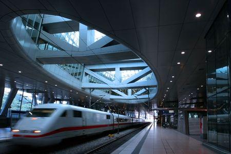 A modern trainstation