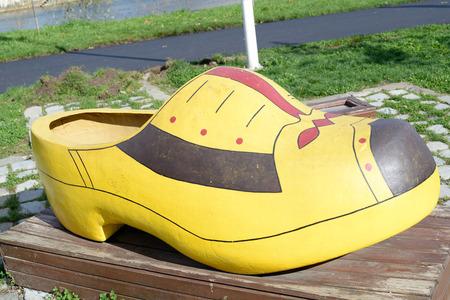 Dutch wooden shoe
