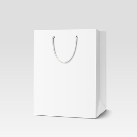 Shopping paper bag.