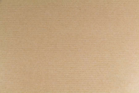 Photo for Sheet of beige kraft paper as background - Royalty Free Image
