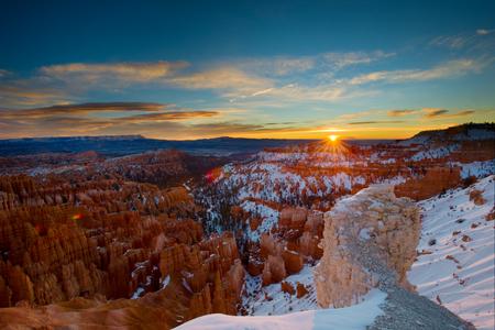 Bryce Winter Sunrise