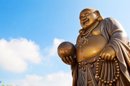 Foto de Laughing Buddha - Imagen libre de derechos