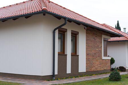 Foto de Picture of a modern family house in Gyula, Hungary - Imagen libre de derechos