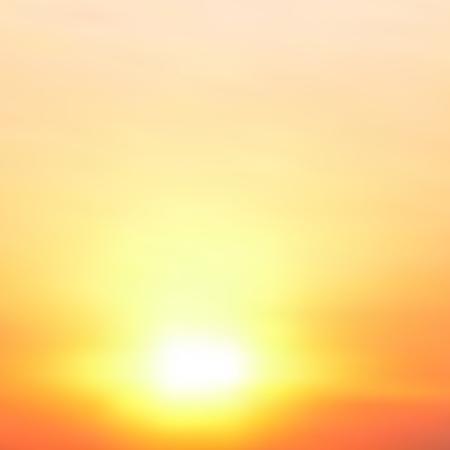 Illustration pour Abstract blurred vector background. Sunset. - image libre de droit