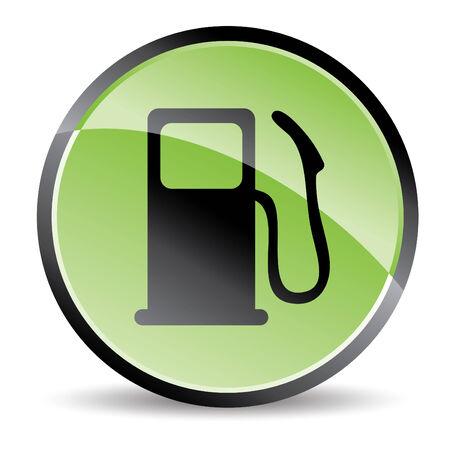 eco pump icon in green tones