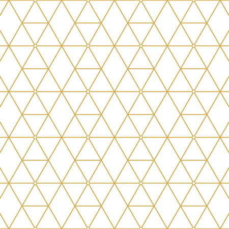 Illustration for Elegant retro pattern gold squares. Fashion style. - Royalty Free Image