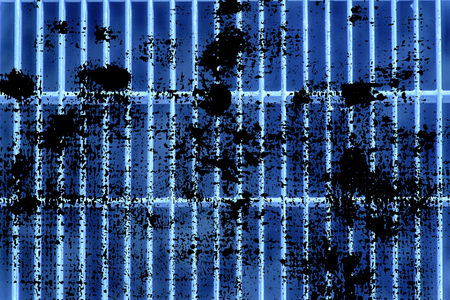 Grunge Ultra blue Steel ground lattice. Stainless steel texture, background for web site or mobile devices.