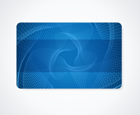 Dark Blue Business Card Gift Card Discount Card Template Layout