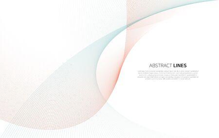 Illustration pour Abstract background of lines - image libre de droit
