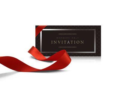 Photo pour luxury invitation card, voucher frame  and banner - image libre de droit