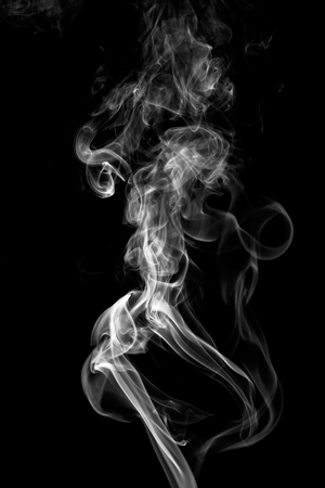Photo for colorful smoke on dark background - Royalty Free Image
