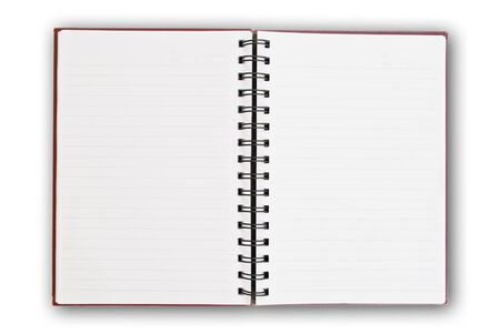 Photo pour white paper of notebook - image libre de droit