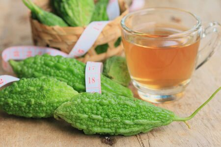 hot tea bitter melon