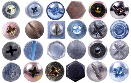 Screws head collection
