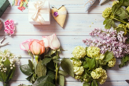 Photo for florist workplace - Royalty Free Image
