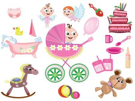 Baby girl,icons