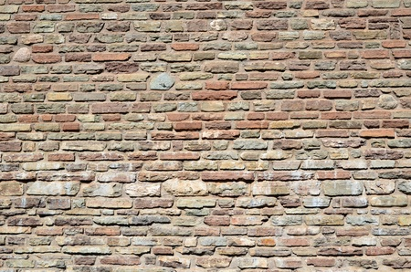 Background of an old brick w