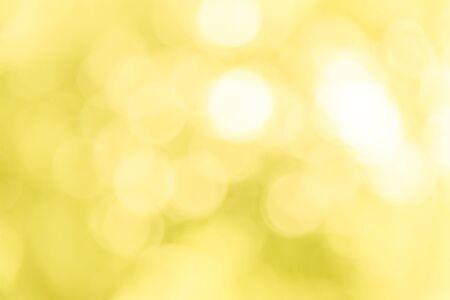 Photo pour Yellow bokeh texture background from natural - image libre de droit