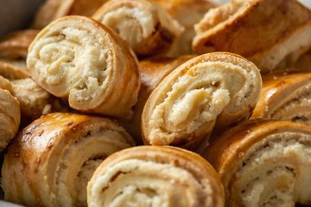 Photo pour Gata, traditional armenian sweet pastry. - image libre de droit