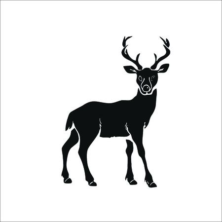 Illustration pour Deer icon. Vector Illustration - image libre de droit