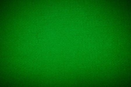 Close-up of green poker table felt background. XXL size.