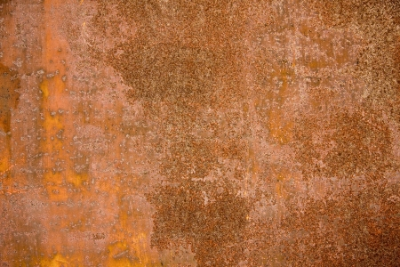 Photo pour Texture of old and rusty metal plate  - image libre de droit