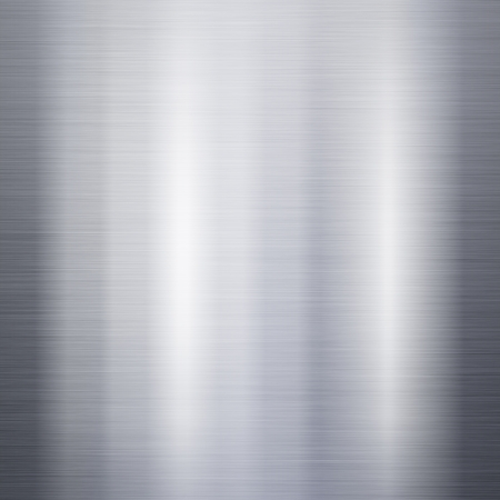 Photo for Brushed metal aluminum background or texture - Royalty Free Image
