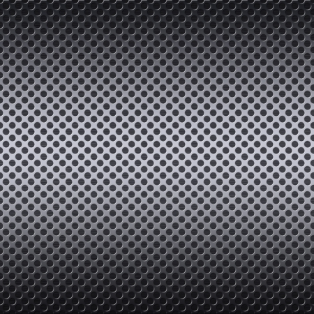 Metal mesh texture background with reflections