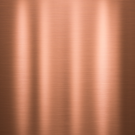 Metal Background Or Texture Of Brushed Copper Plate Mural