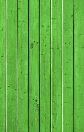 Wall of pine green wood board. Lining closeup, frontally.