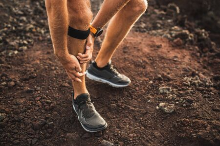 Runner using Knee support bandage and have a problem with leg injury on running. Periosteum problem or sprain ligament.