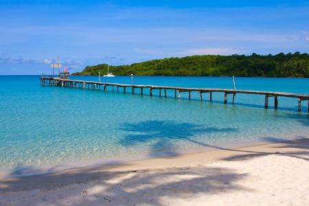 Beautiful tropical beach in Koh Kood  Thailand