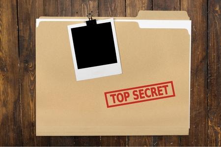 Photo pour Top Secret, Secrecy, File. - image libre de droit