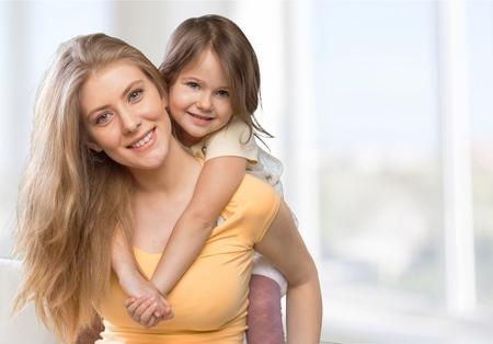 Photo pour Mom, daughter, mother. - image libre de droit