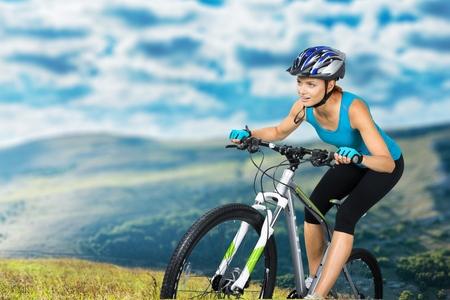 Photo pour Cycling, Bicycle, Triathlon. - image libre de droit