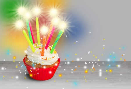 Fine Birthday Cake Sparkler Royalty Free Images Photos And Pictures Funny Birthday Cards Online Fluifree Goldxyz