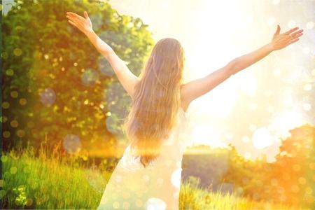 Foto de Hope, faith, concept. - Imagen libre de derechos