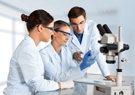 Laboratory, Biotechnology, Research.