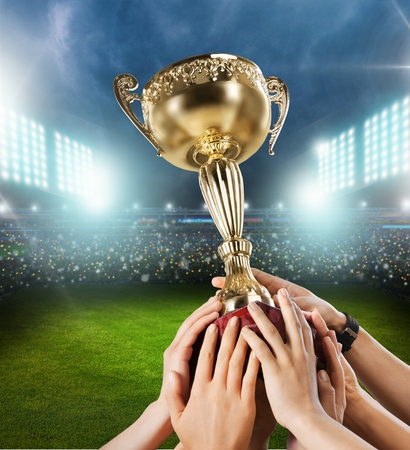 Trophy, Winning, Success.