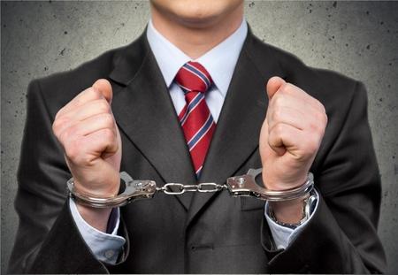 Handcuffs, White Collar Crime, Criminal.
