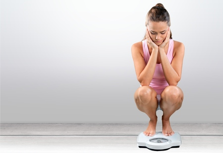 Dieting, Women, Weight Scale.